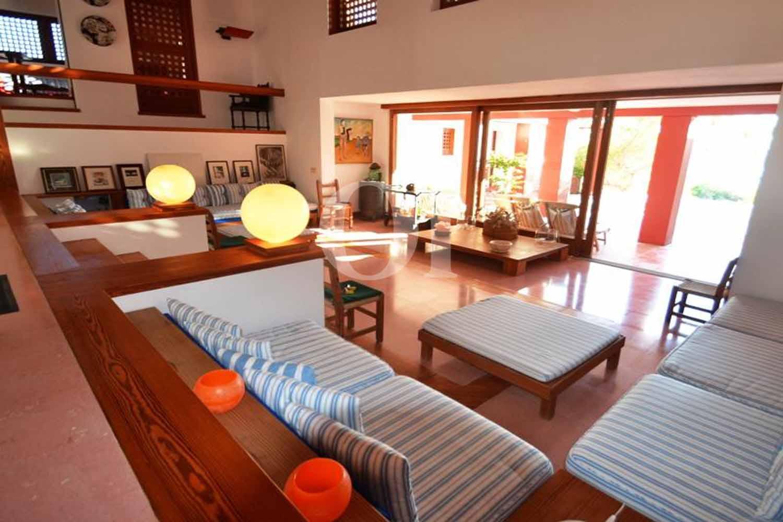 Гостиная на вилле на продажу на Форментере, Балеарские острова