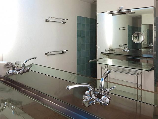 Bathroom in a villa for sale in Formentera