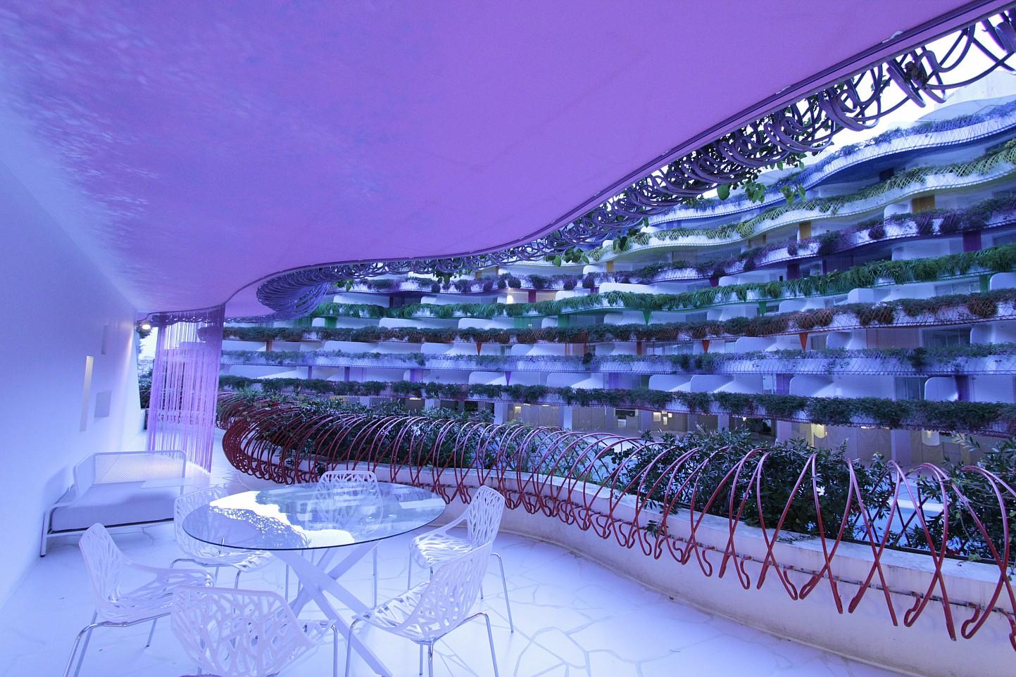 Blick auf das Interieur vom smarten Apartment, Marina Botafoch