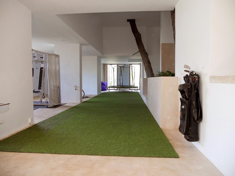 Vistas interiores de espectacular villa en alquiler en Cala Salada, Ibiza