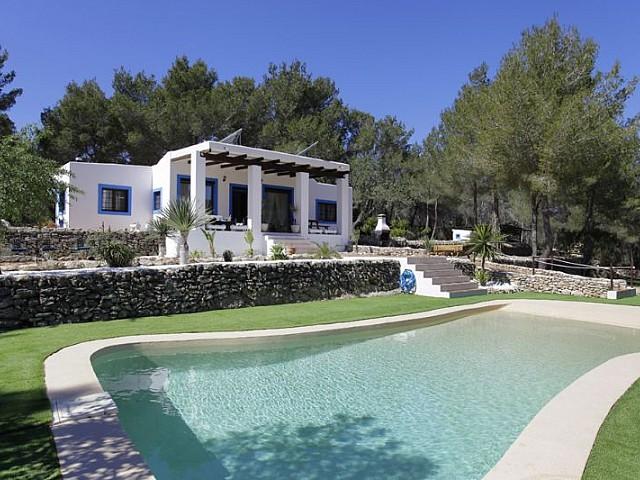 Casa ibicenca en alquiler desde 4.560 € por semana en Santa Gertrudis, Ibiza