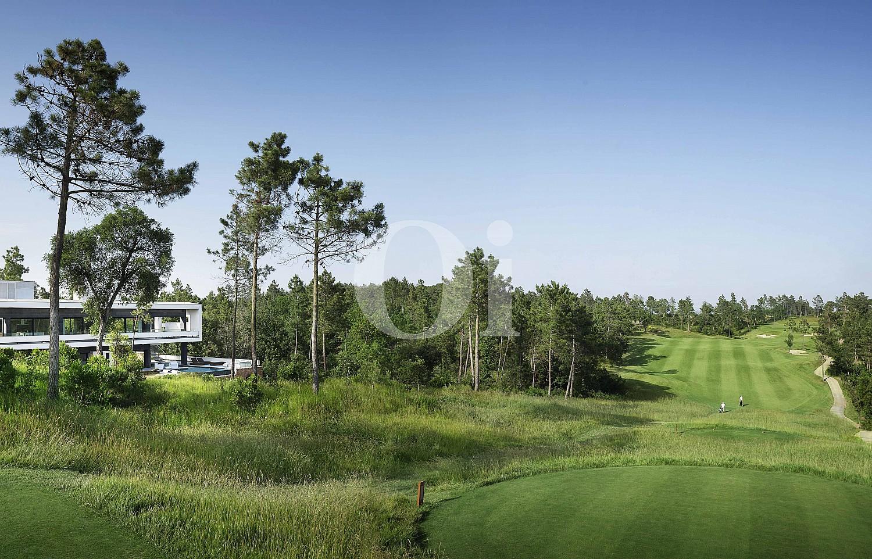 Blick auf den Golfplatz der Luxus-Villa zum Verkauf in PGA Golf