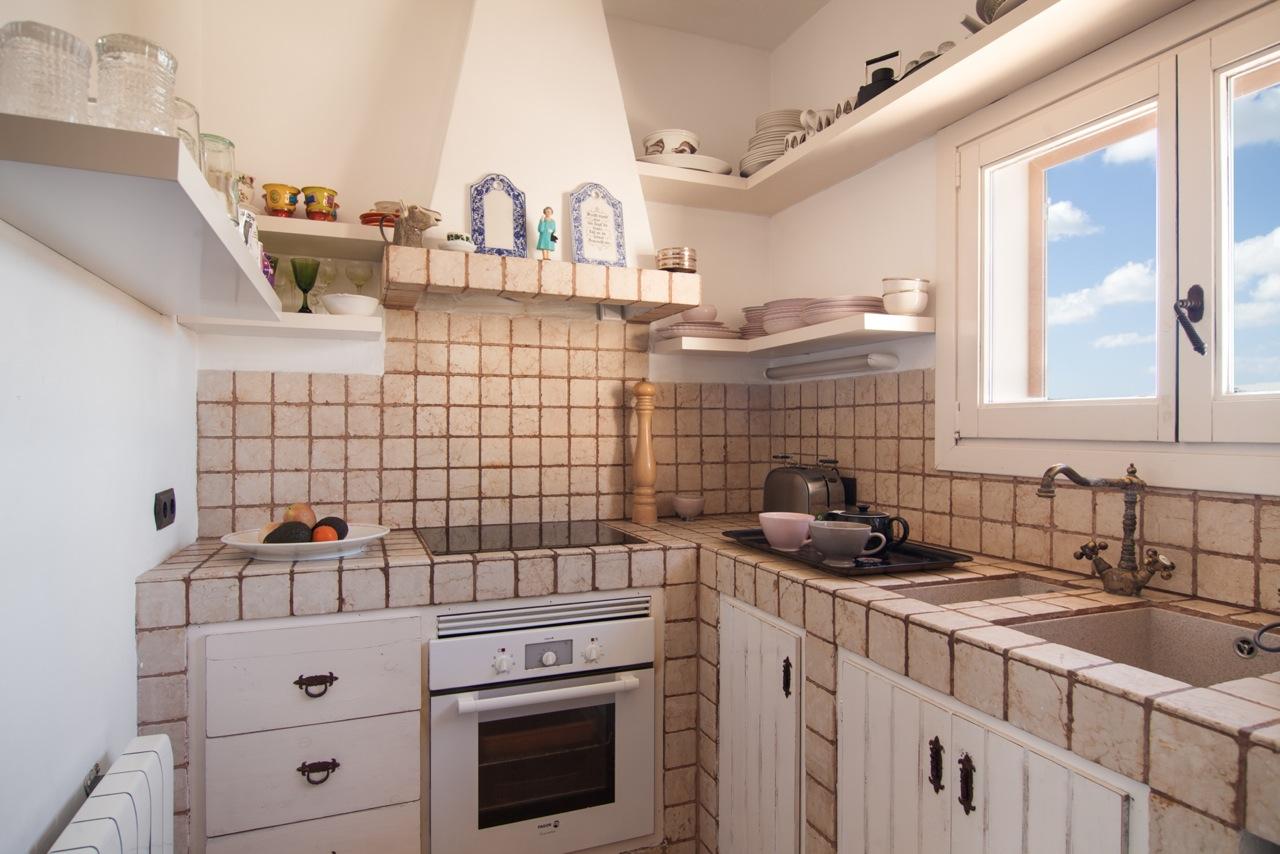 Cocina de fantastico apartamento en alquiler en Sant Jordi, Ibiza