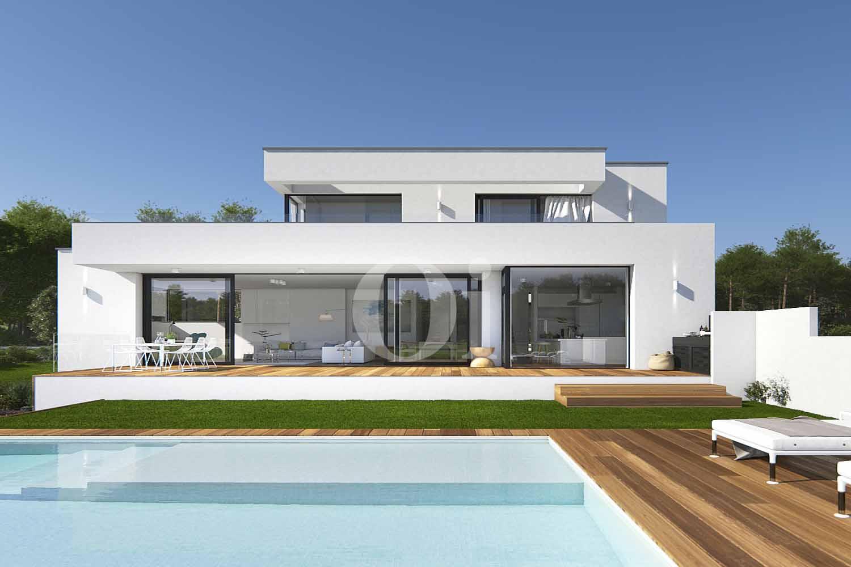 proyecto para villa de diseño minimalista en venta en pga