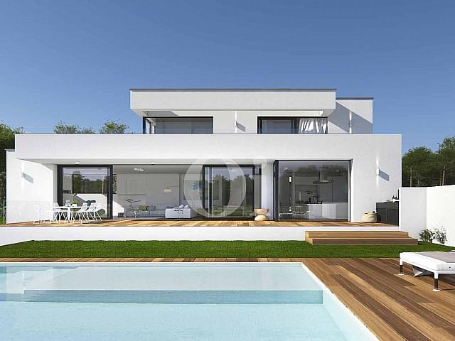 Villa au design minimaliste en vente au golf PGA Catalunya Resort, á Gérone.