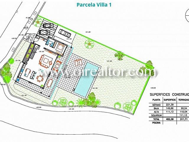 plano exterior - Espectacular villa de lujo con vistas a la costa de Marbella