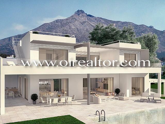 Espectacular villa de lujo con vistas a la costa de Marbella