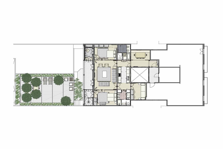 Эффектная квартира с уникальной реформой в королевской собственности в Eixample Dreta