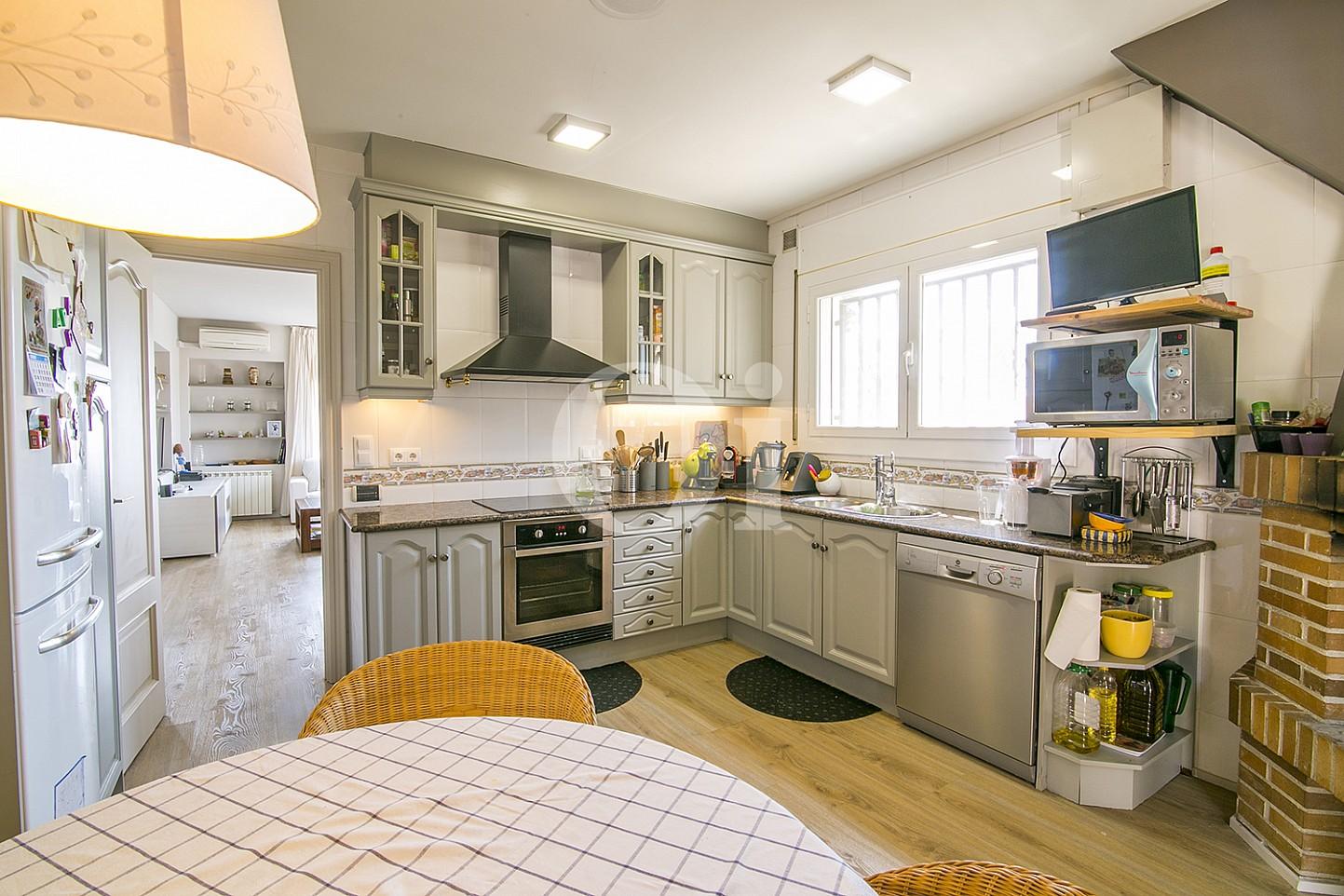 Кухня в особняке на продажу в Cabrils, Maresme