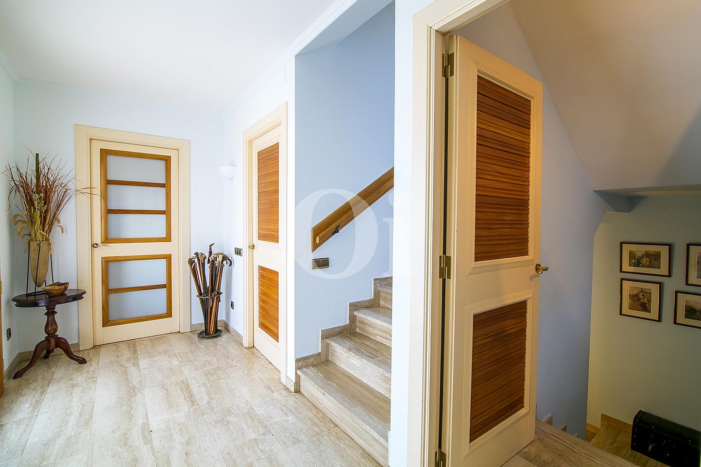 Luminoso recibidor en fabulosa casa en venta en Teià