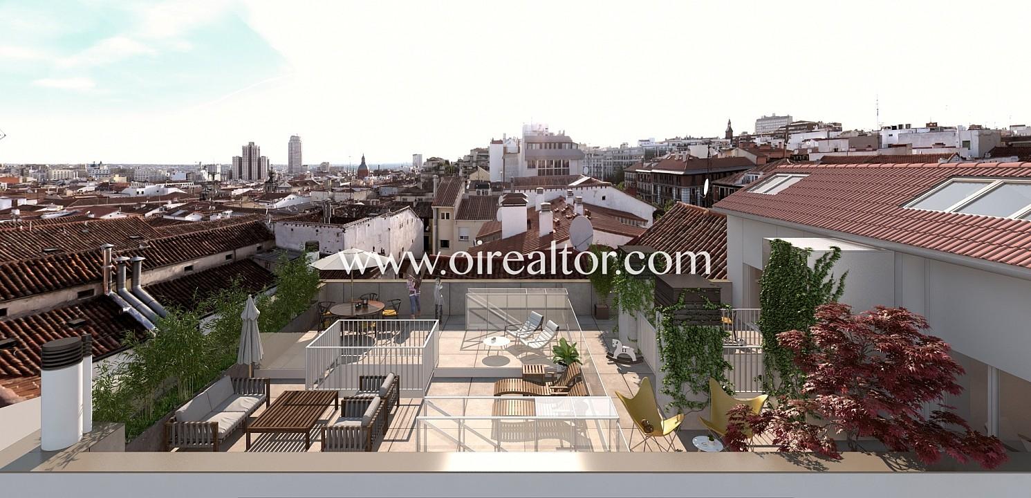 Продается двухэтажный пентхаус в Chamberí, Мадрид