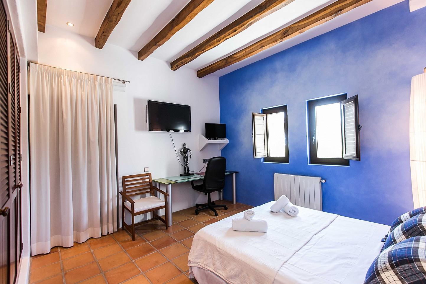 Превосходная спальня дома в аренду в Puig d'en Valls, Ибица