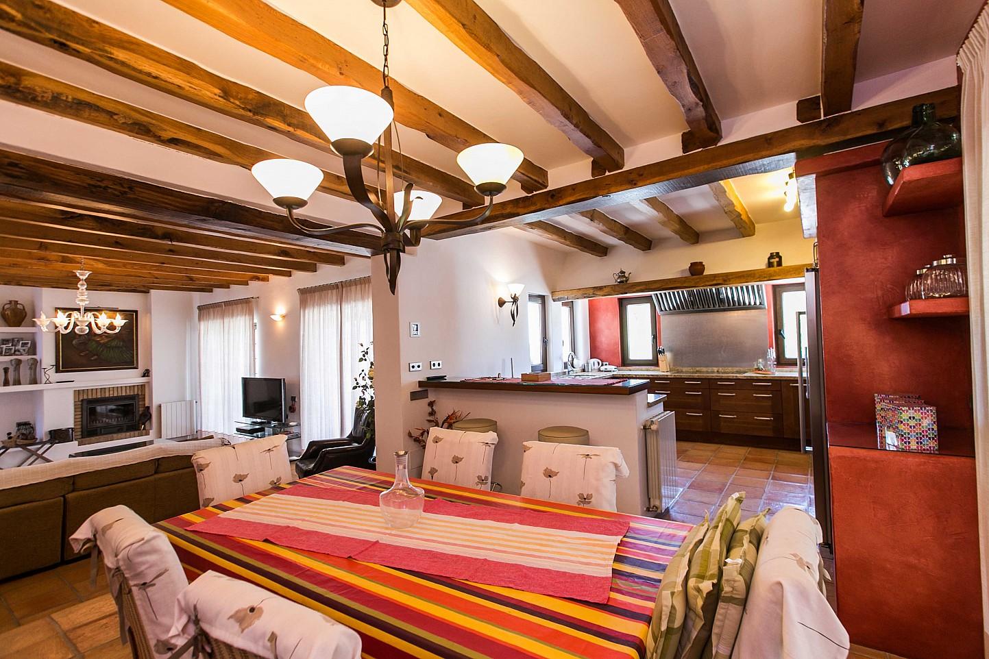Роскошная столовая дома в аренду в Puig d'en Valls, Ибица