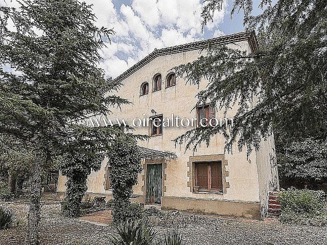 Rustic property for sale in the Sierra de Collserola