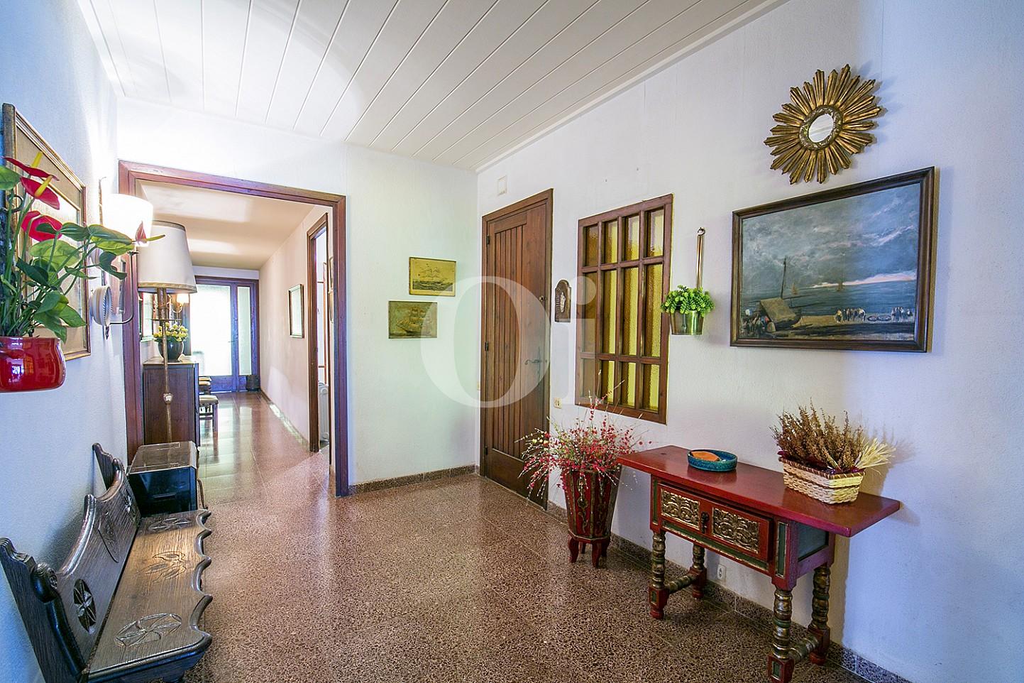 vistes de sensacional saló menjador amb vistes exteriors en pis en venda a caldes d'estrac