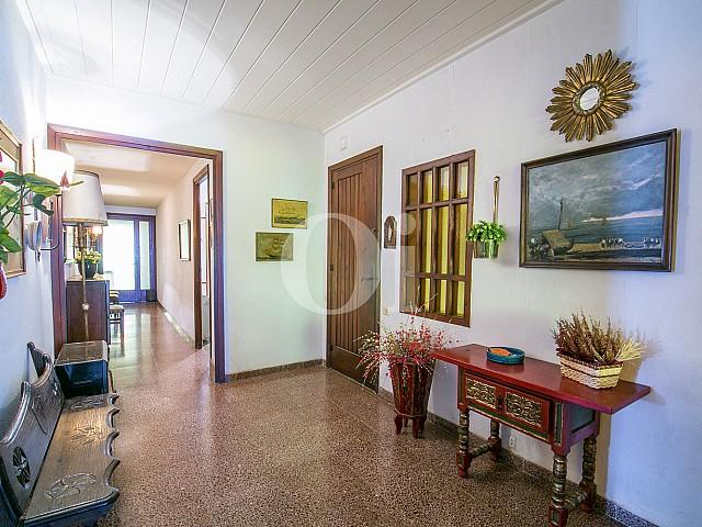 vistas de sensacional salón comedor con vistas exteriores en piso en venta en caldes d'estrac