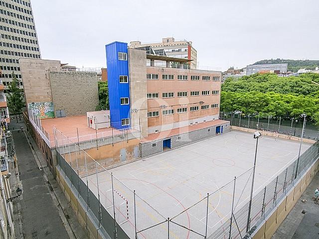 vistas exteriores desde piso en venta en el centro de Barcelona
