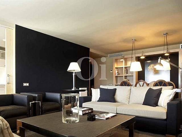 Salón de propiedad de precioso piso en vent en Sant Gervasi - La Bonanova