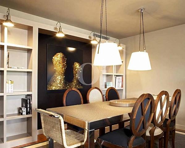 Salón-comedor de propiedad de precioso piso en vent en Sant Gervasi - La Bonanova