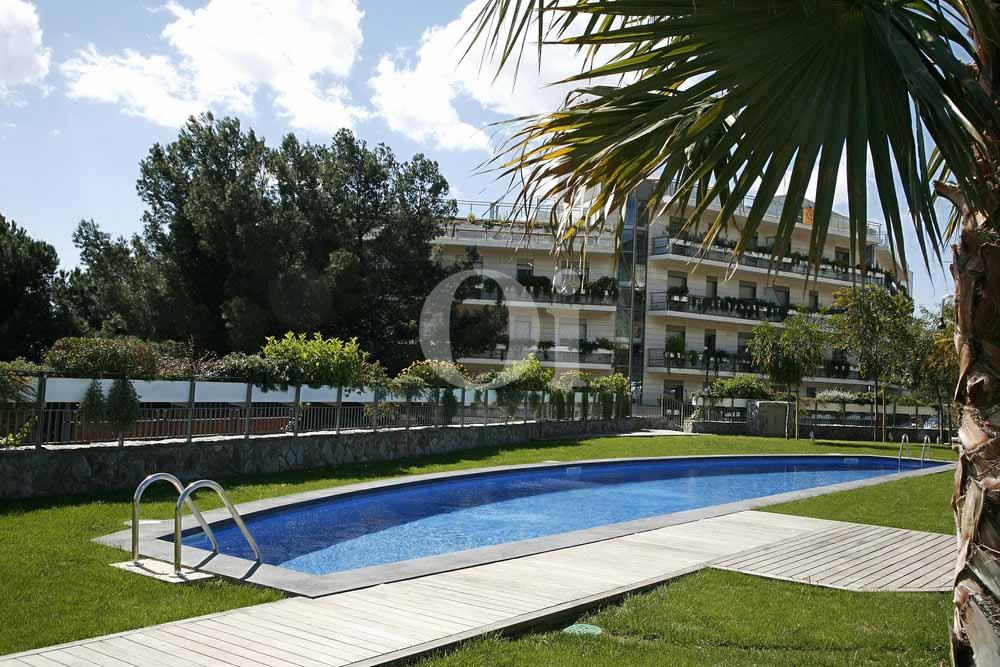 Бассейн квартиры на продажу в районе Sant Gervasi - La Bonanova