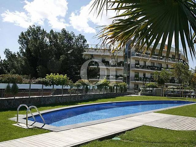 Piscina de propiedad de precioso piso en vent en Sant Gervasi - La Bonanova
