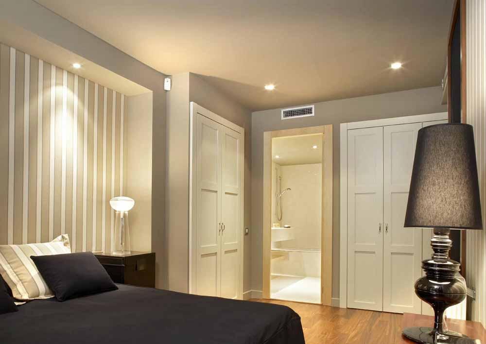 Habitación de matrimonio de precioso apartamento en venta en Sant Gervasi - La Bonanova