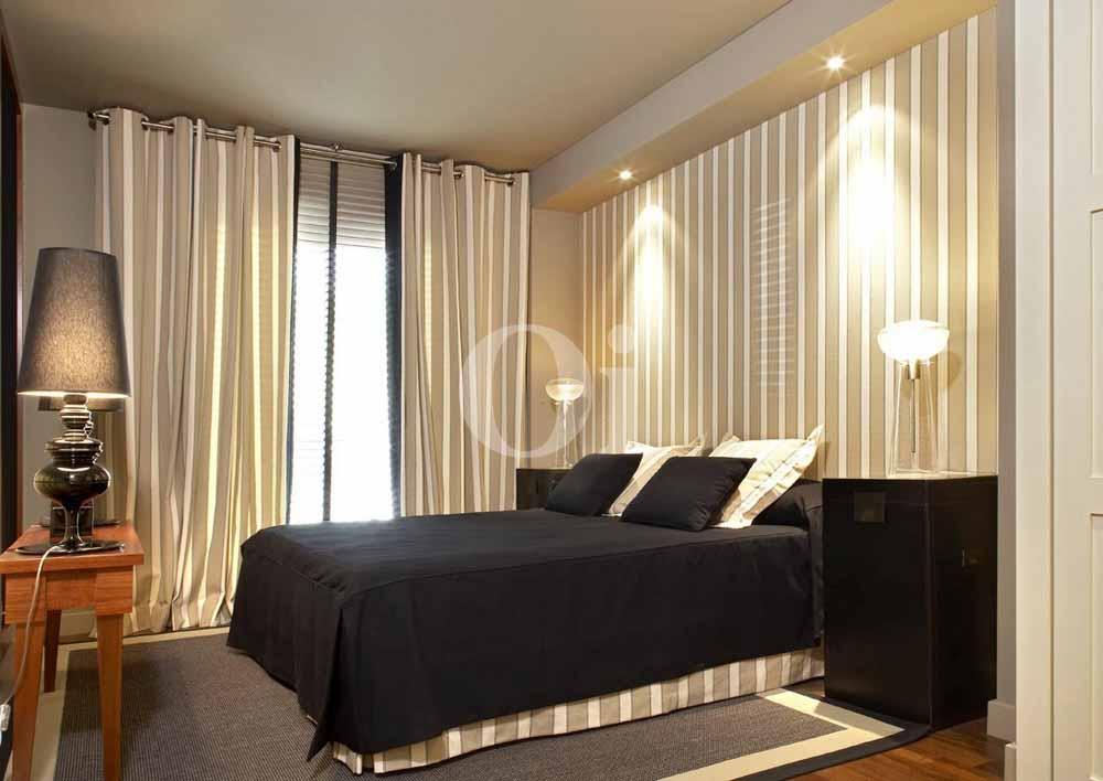 Habitación de matrimonio de maravilloso piso en venta en Sant Gervasi - La Bonanova