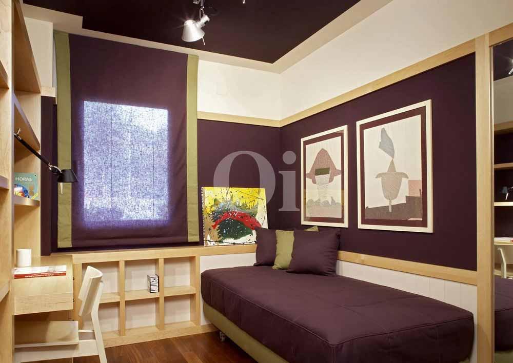 Habitación individual de maravilloso piso en venta en Sant Gervasi - La Bonanova
