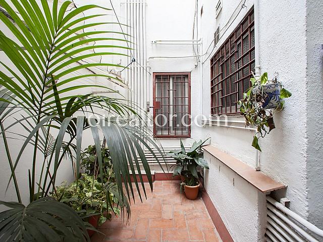 07 Patio, piso en venta en Barcelona