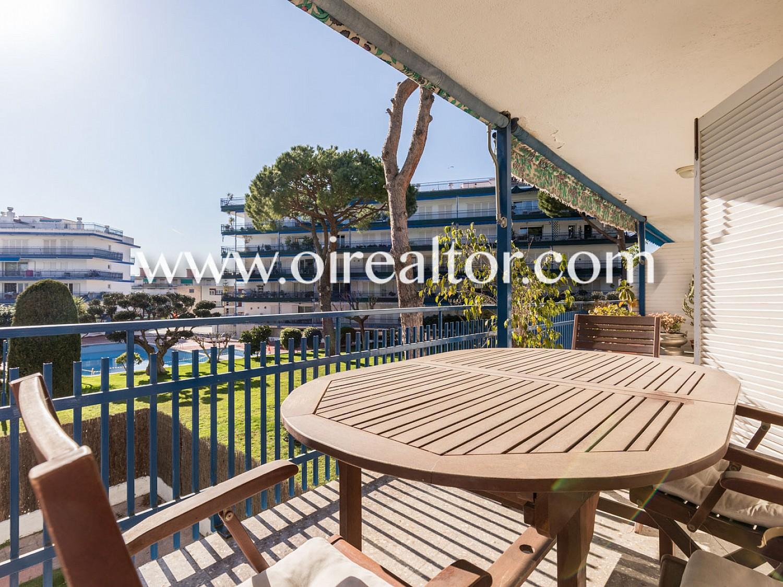 Продается квартира на пляже Сан Андреу де Льяванерес