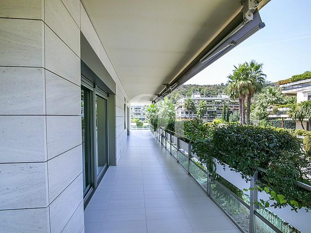 Piso en venta en el exclusivo complejo residencial Torre Vilana, Barcelona