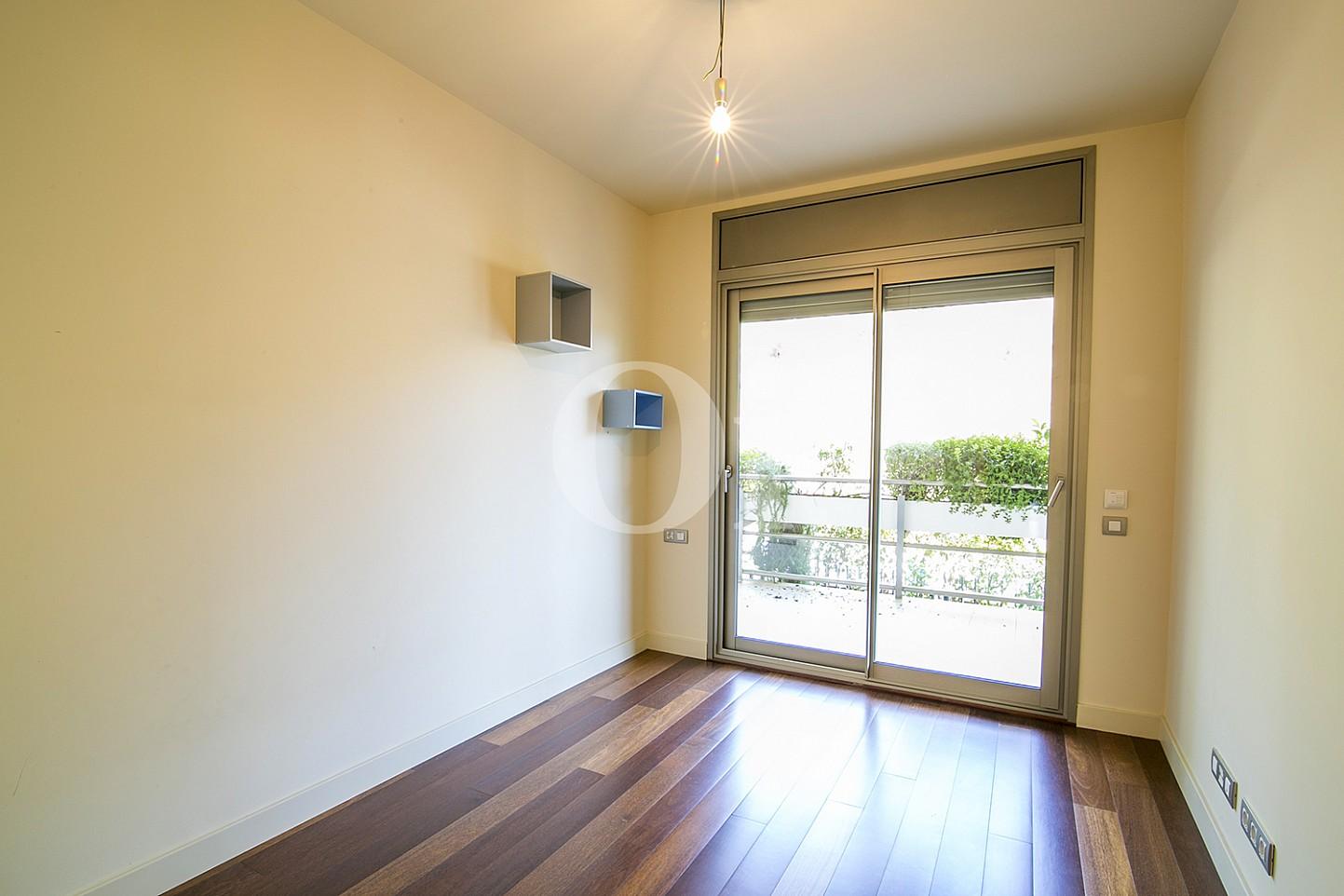 Habitació individual amb accés a l'exterior