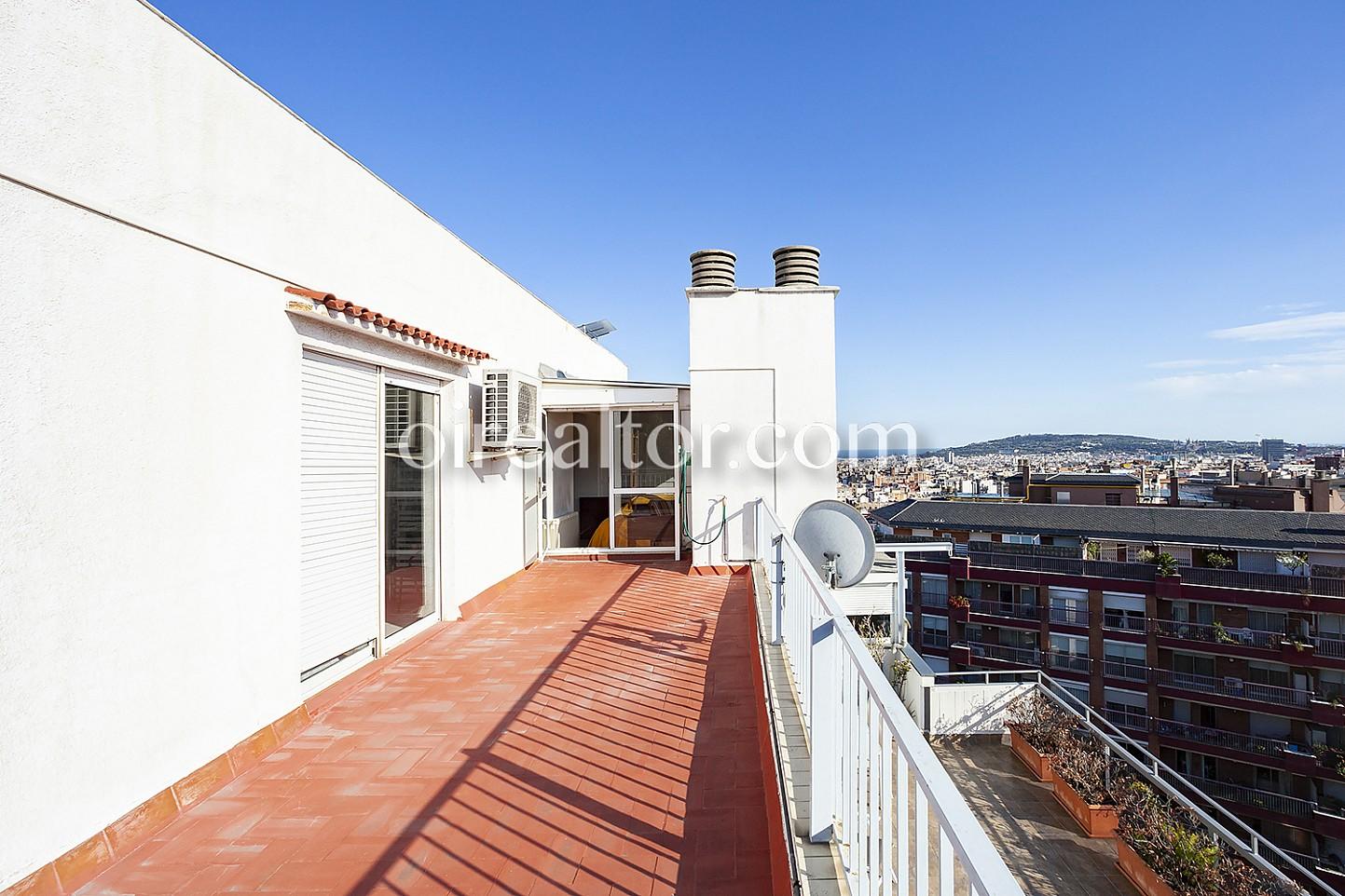Atico en venta en sant gervasi el putxet barcelona oi - Atico terraza barcelona ...