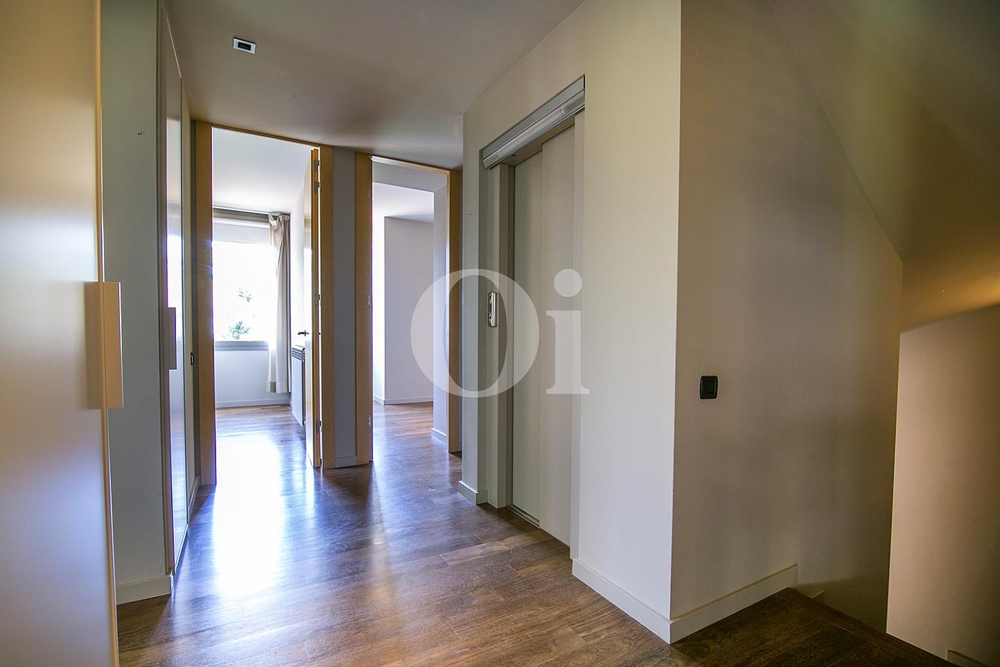 vista de planta rpimera de casa de lujo en venta en la zona alta de Barcelona