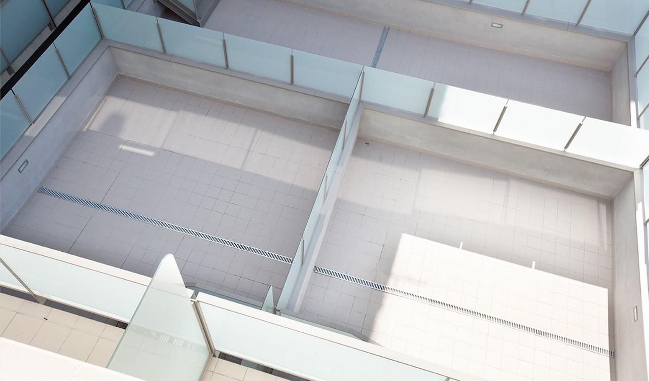 vista de terrazas de pisos en venta en Sants