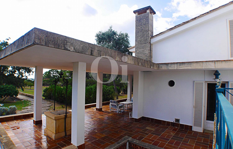 Terraza de casa en venta con potencial en Manacor, Mallorca
