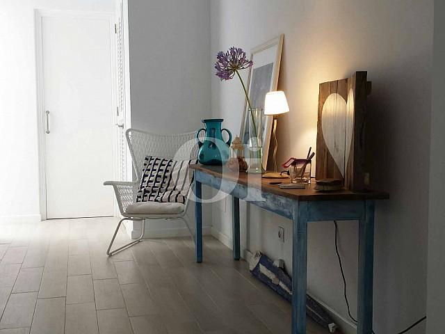 Pasillo de encantador apartamento en venta en S'Illot, Mallorca