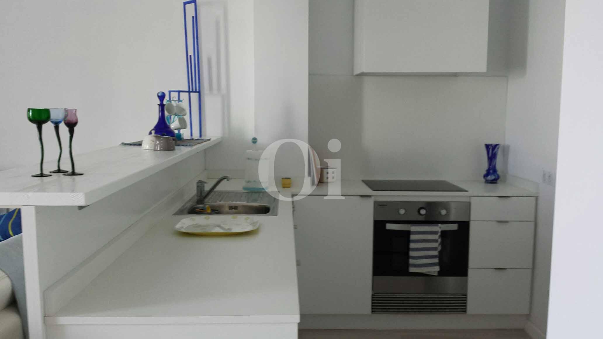 Cocina de encantador apartamento en venta en S'Illot, Mallorca