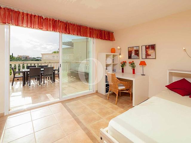 Dormitorio de apartamento nuevo en venta en Porto Cristo, Mallorca