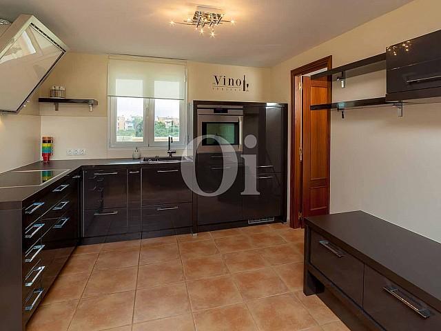 Cocina de apartamento nuevo en venta en Porto Cristo, Mallorca