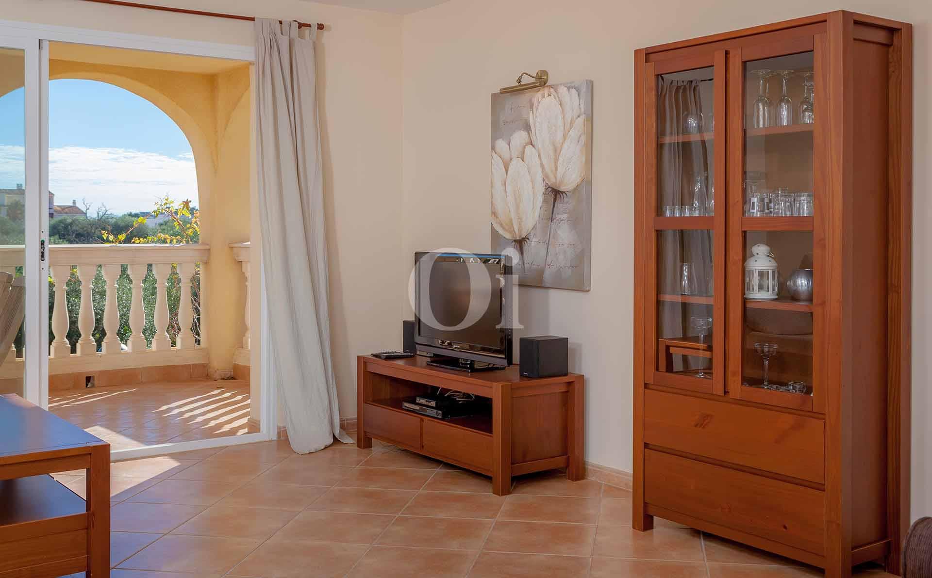 Sala de estar de apartamento en venta en Porto Cristo, Mallorca