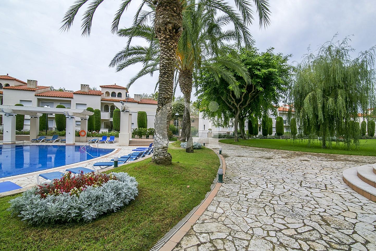 Vistas de lujoso ático dúplex en venta en S'Agaró, Costa Brava
