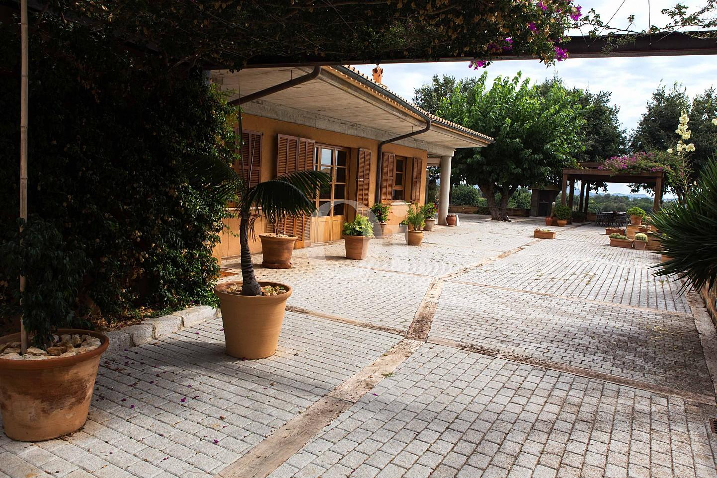Vistas de villa exclusiva en venta en Mallorca próxima a Manacor