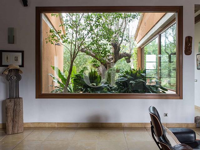 Vistas interiores de villa exclusiva en venta en Mallorca próxima a Manacor