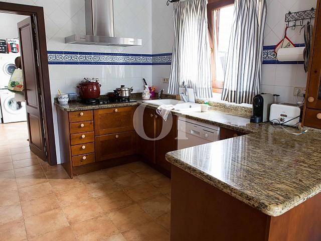 Cocina de preciosa casa de campo en venta en Manacor, Mallorca