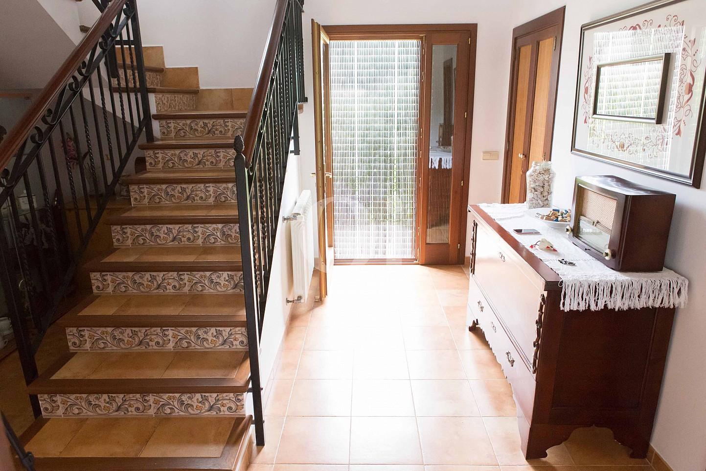 Escaleras de preciosa casa de campo en venta en Manacor, Mallorca