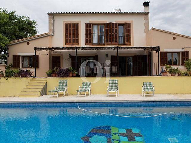 Vistas de preciosa casa de campo en venta en Manacor, Mallorca