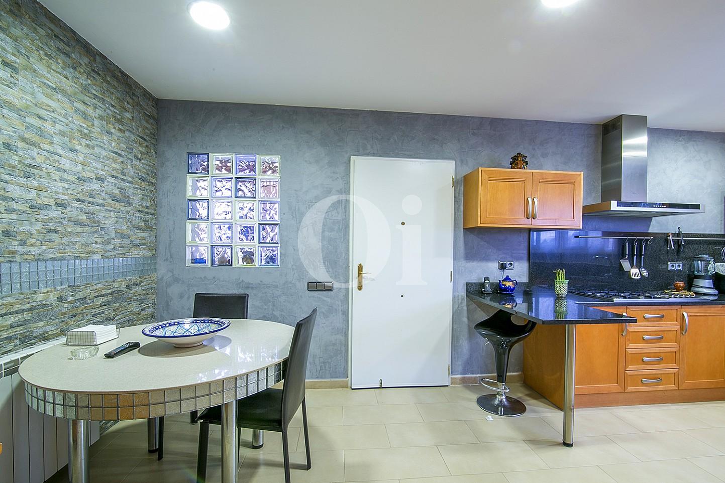 Menjador  d'una casa amb vistes en venda a Lloret de Mar, Costa Brava