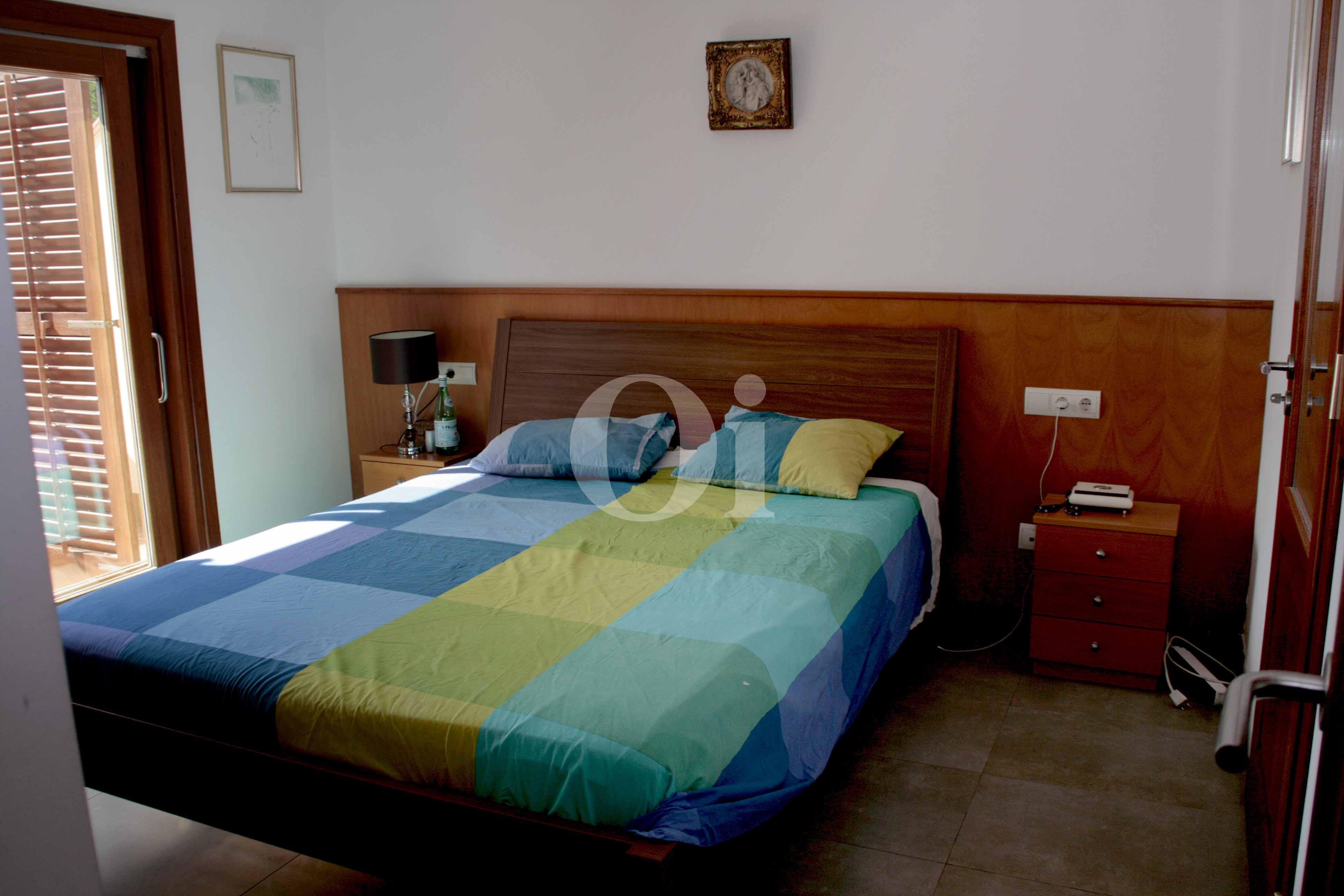 Schlafzimmer  eines wunderbaren Reihenhauses zum Verkauf in Ibiza