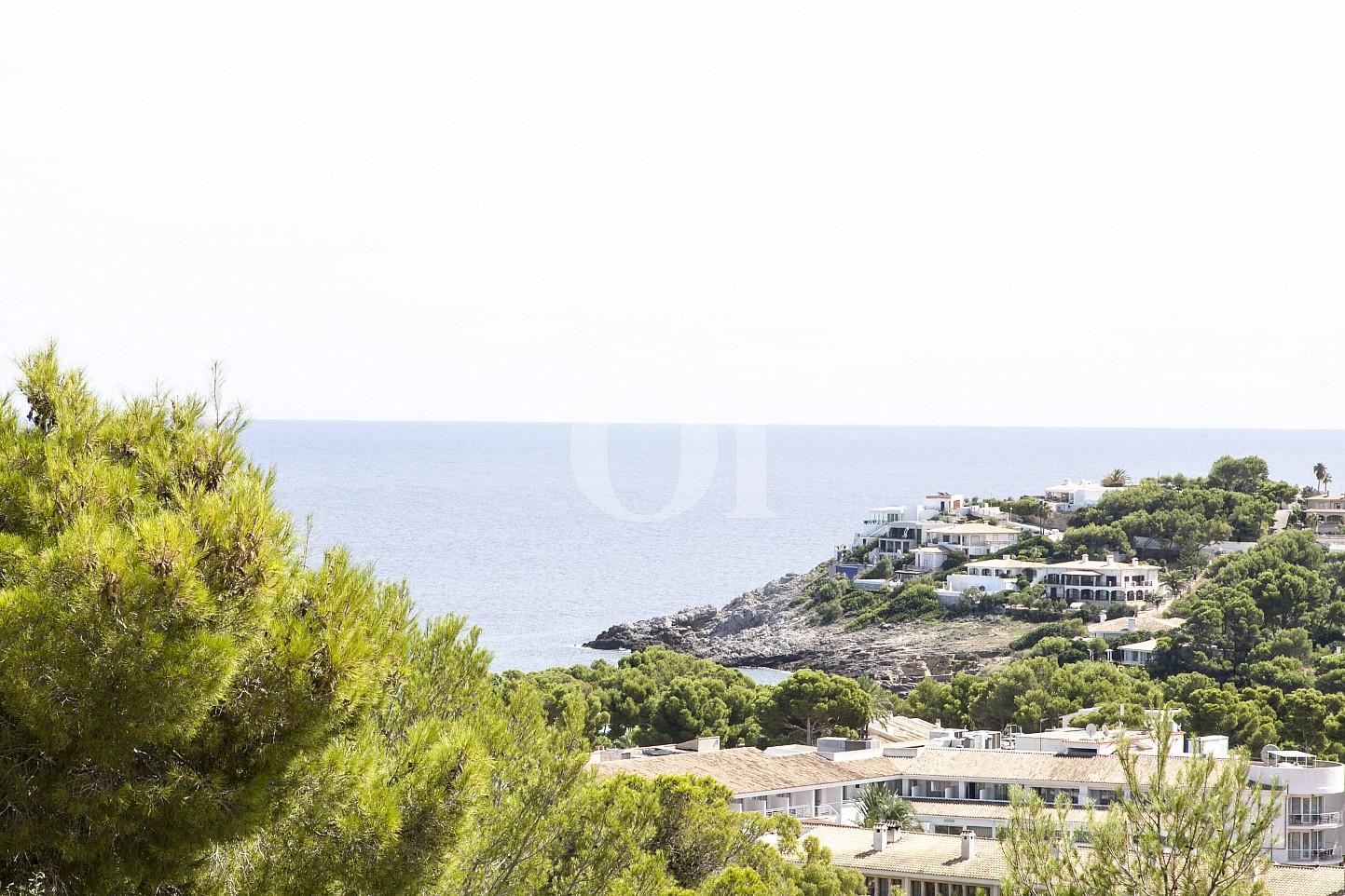 Vistes al mar d'una casa en venda en un exclusiu complex residencial de Mallorca